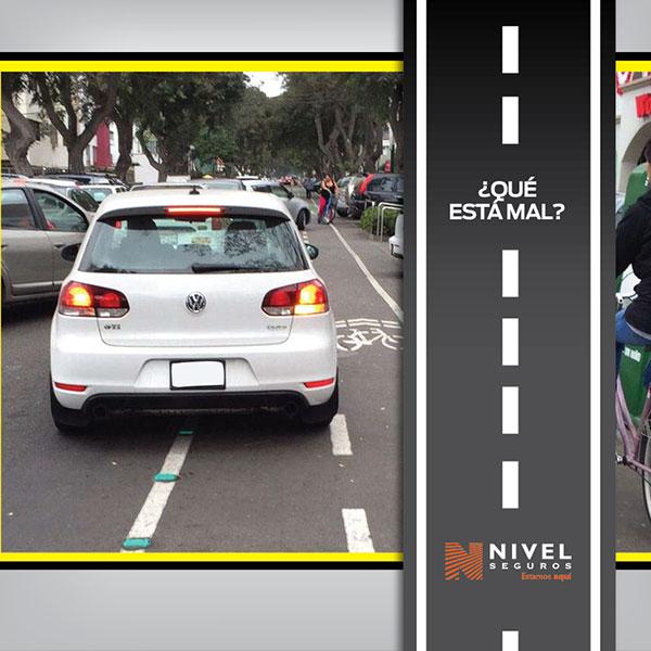Meterse en sendas para ciclistas